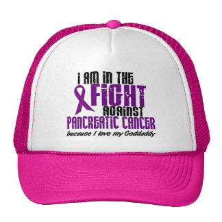 In The Fight Against Pancreatic Cancer GODDADDY Trucker Hats