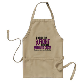 In The Fight Against Pancreatic Cancer GODDADDY Standard Apron