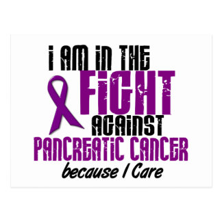 In The Fight Against Pancreatic Cancer I CARE Postcard