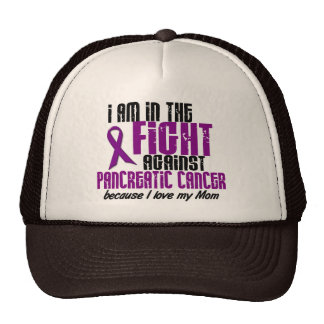 In The Fight Against Pancreatic Cancer MOM Mesh Hats