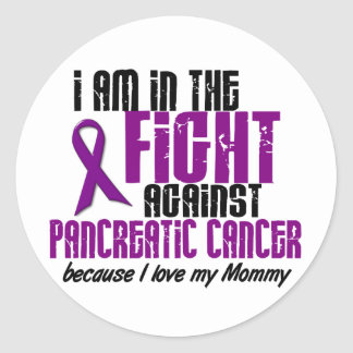 In The Fight Against Pancreatic Cancer MOMMY Sticker