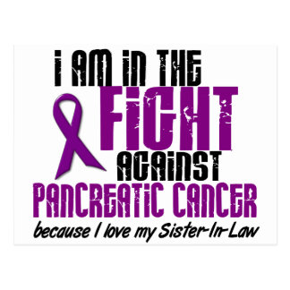 In The Fight Against Pancreatic Cancer SISTER-IN-L Postcards
