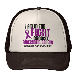 In The Fight Against Pancreatic Cancer SON Mesh Hat