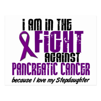 In The Fight Against Pancreatic Cancer STEPDAUGHTE Postcard