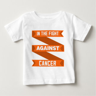 In The Fight Against Skin Cancer Baby T-Shirt