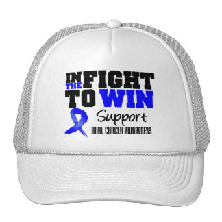 In The Fight To Win Anal Cancer Mesh Hat