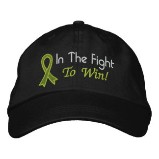 In The Fight To Win - Lymphoma Embroidered Baseball Caps