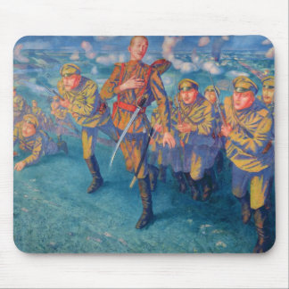 In the Firing Line, 1916 Mouse Mat