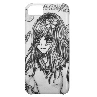 In the flower valley - Mangamädchen with flowers iPhone 5C Case