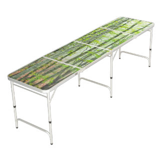 in the forest beer pong table