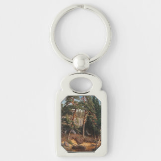 """""""In The Forest"""" key chain"""