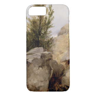 In the Forest of Fontainebleau, c.1825 (oil on can iPhone 8/7 Case