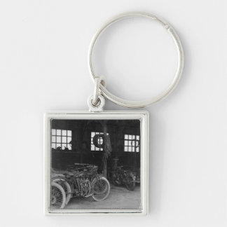 In the Garage Vintage WWII Keychain