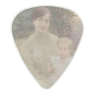 In the Garden, 1904 Acetal Guitar Pick