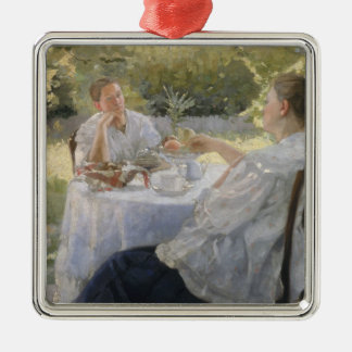 In the Garden, 1911 Christmas Ornament