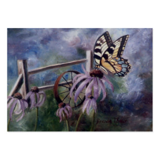 In The Garden Butterfly Art Card Business Cards