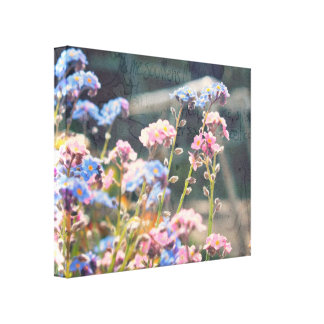 In The Garden. Stretched Canvas Print