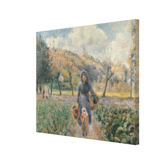 In the Garden Canvas Prints