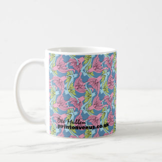 """In the Garden"" Classic White Mug"