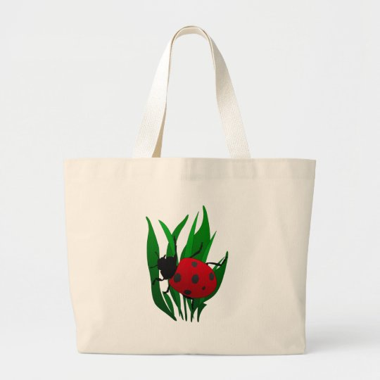 In the Garden Large Tote Bag
