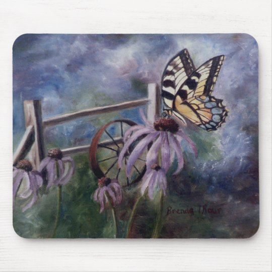In The Garden Mouse Pad