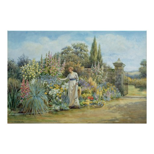 In the Garden Poster