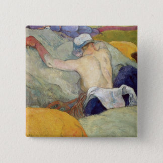 In the Heat, or The Pigs, 1888 15 Cm Square Badge