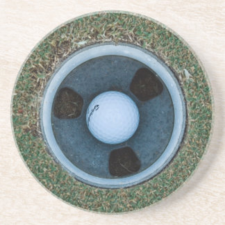 In the Hole! Drink Coasters