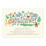 In the Jungle Baby Shower Invite 13 Cm X 18 Cm Invitation Card