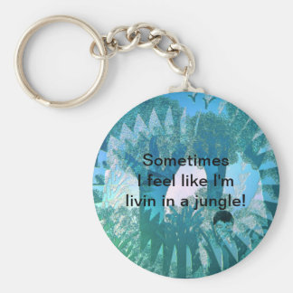 In The Jungle Keychain
