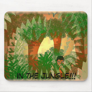 In the Jungle Mousepad