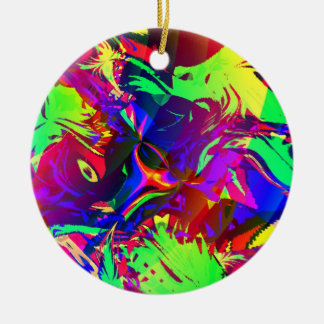 In the Jungle, the Mighty Jungle Christmas Ornament