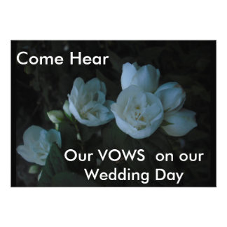 in the light of dawn Come Hear Our VOWS on o Announcement