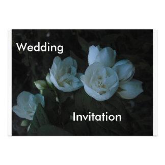 in the light of dawn Wedding Invitation