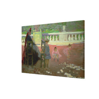 In the Luxembourg Gardens Canvas Prints