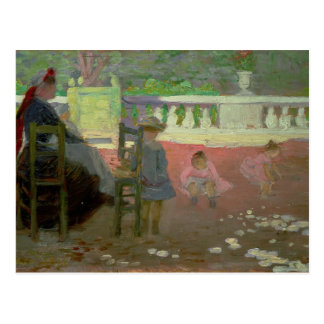 In the Luxembourg Gardens Postcard
