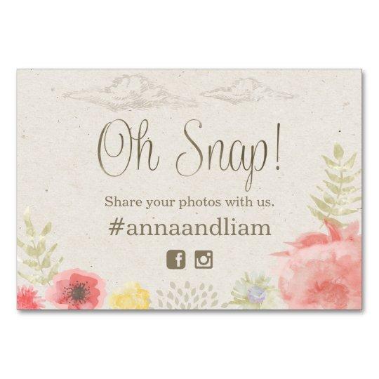 In the Meadow Summer Wedding social media Card