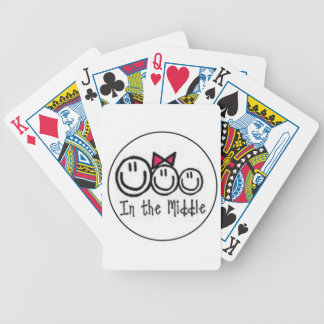 In the middle sister poker deck
