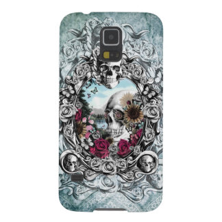 In the mirror landscape skull. case for galaxy s5
