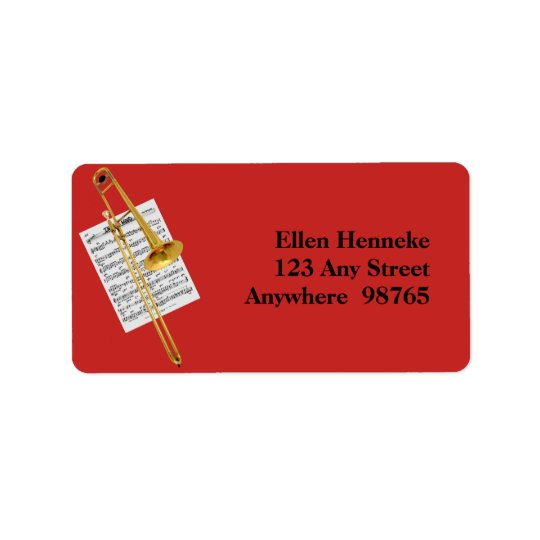 In the Mood Address Label