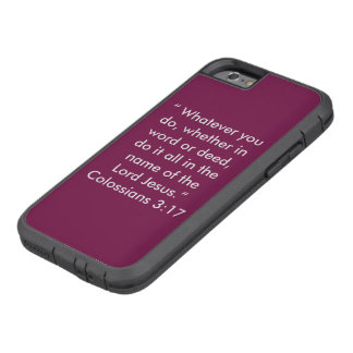 """In the name of Jesus"" Iphone 6/6S Cell Phone Case"