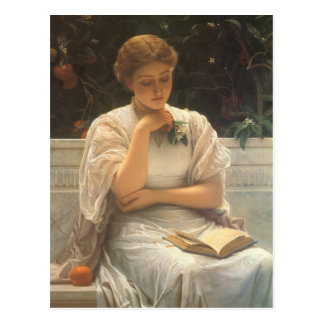In the Orangery by Charles Edward Perugini Postcard
