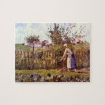 In the Orchard by Camille Pissarro Jigsaw Puzzles