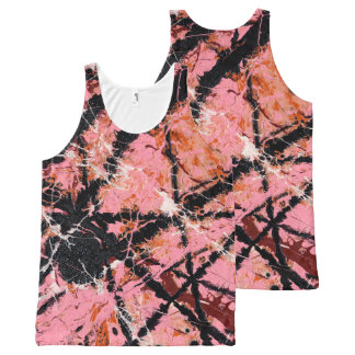 IN THE PINK (an abstract art design) ~.jpg All-Over Print Tank Top