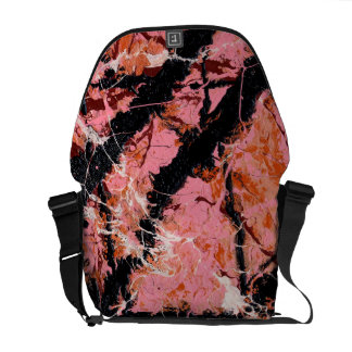 IN THE PINK (an abstract art design) ~ Commuter Bags