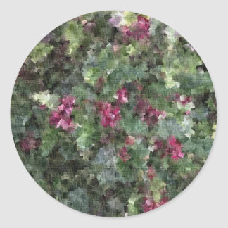 In the Pink Round Sticker