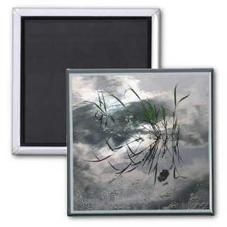 In the Pond/ Happy Mother's Day Square Magnet