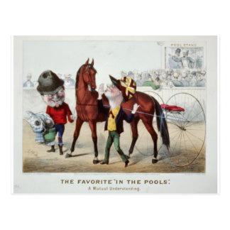 In The Pools 1876 Postcards