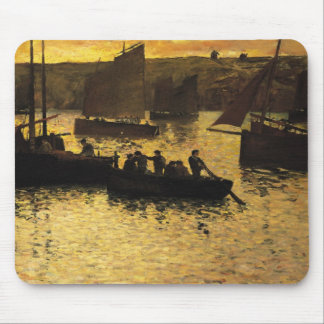 In the Port, 1895 Mouse Mat