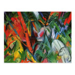 In the Rain by Franz Marc Post Cards